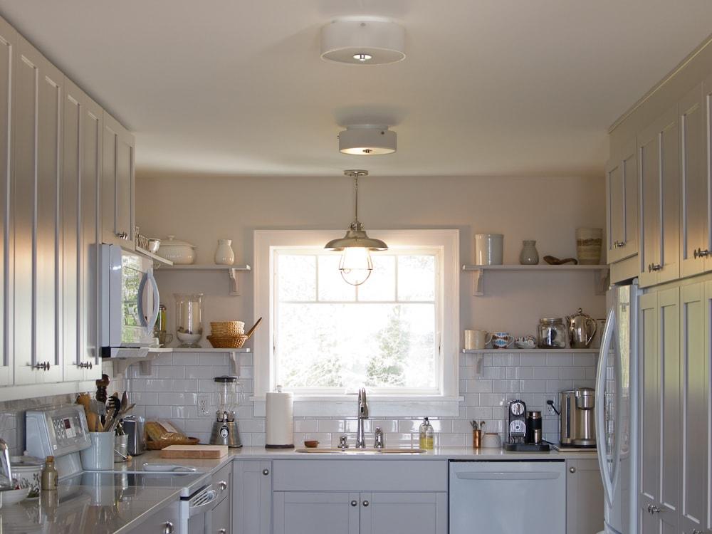 white kitchen lots of storage