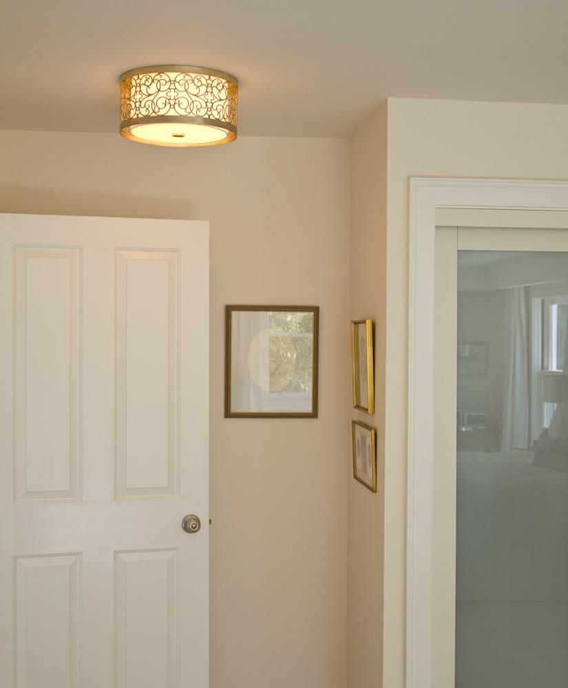 metal filagree light