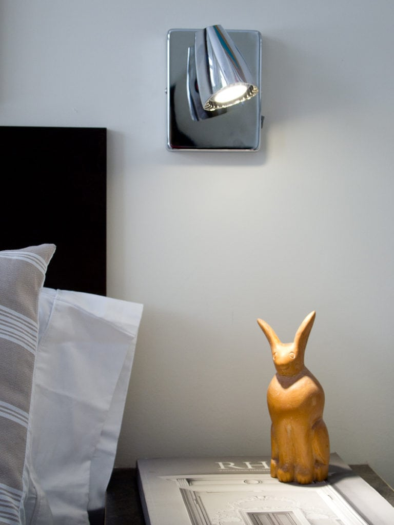 LED bedside reading light