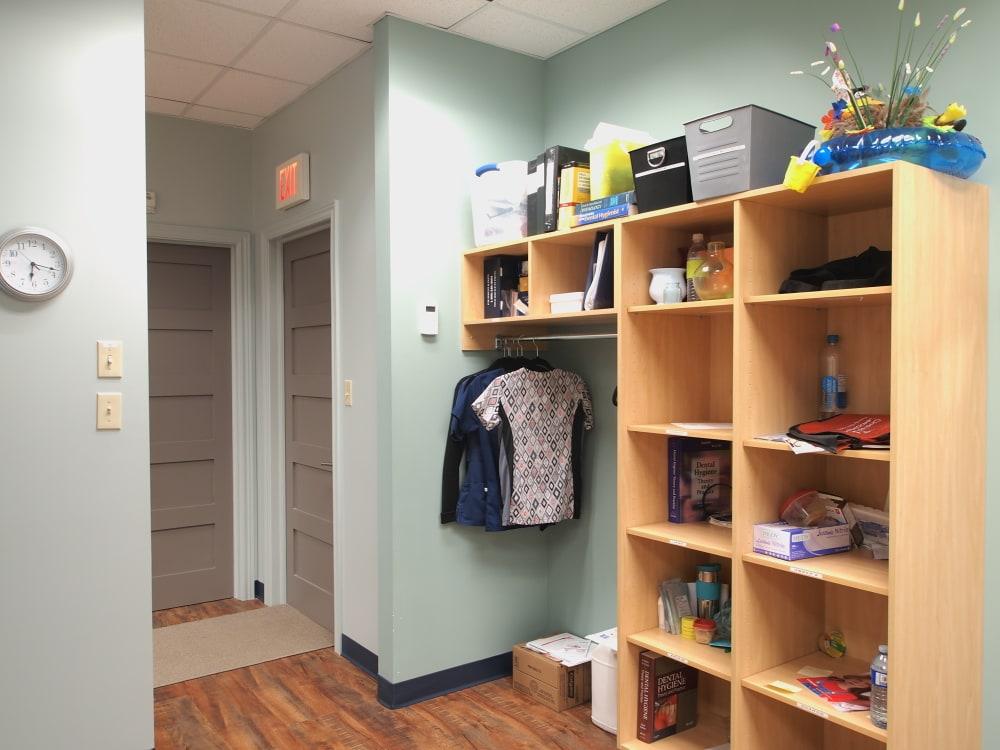 Dental Clinic Staff Personal Storage