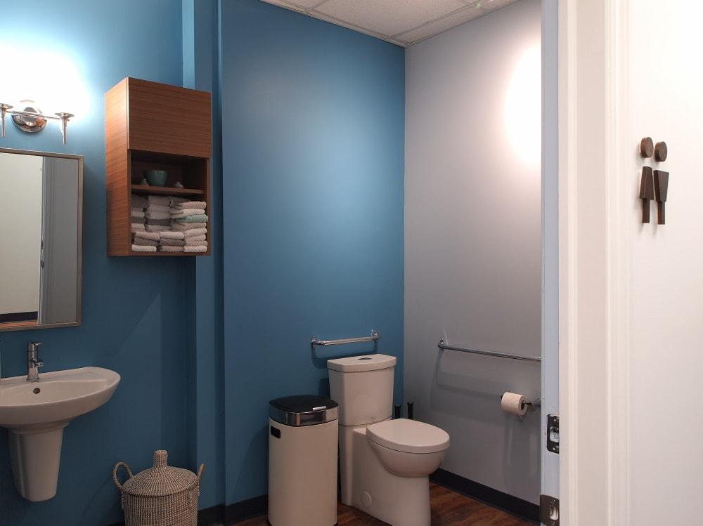 Dental Clinic Washroom