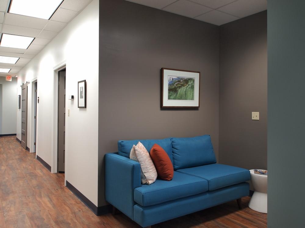 Secondary Waiting Area Dental Clinic