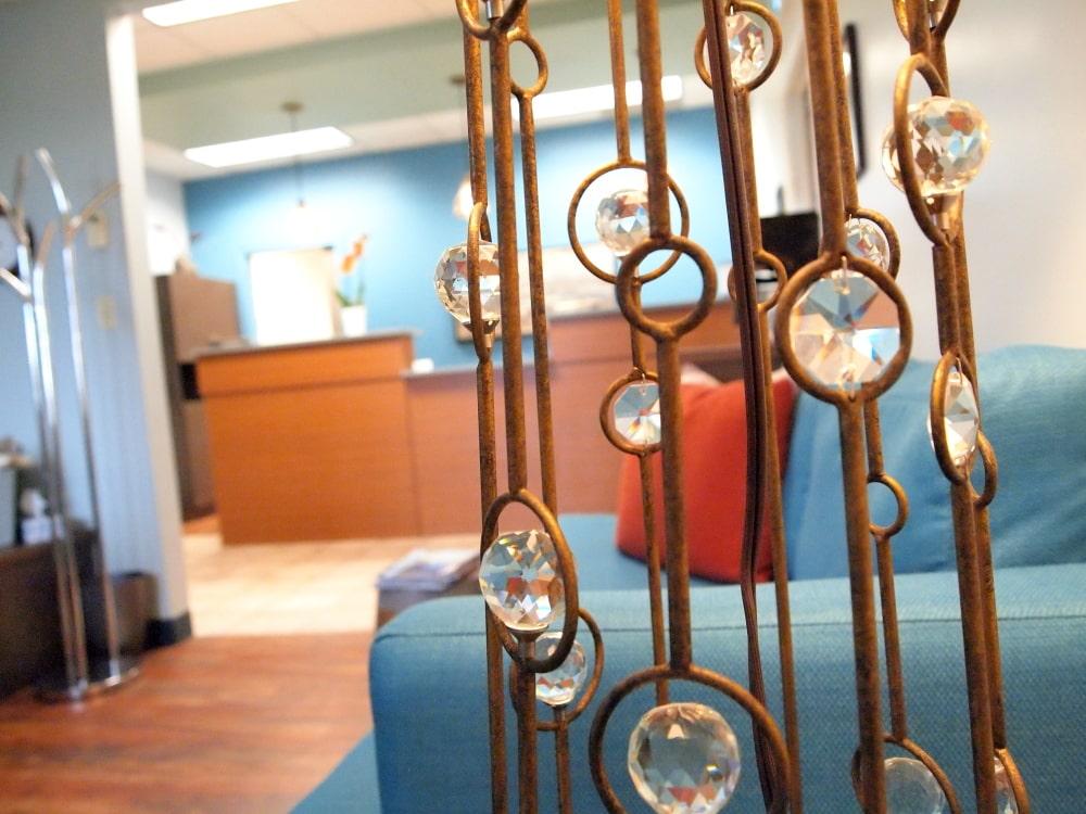 Floor Lamp Detail Waiting Room