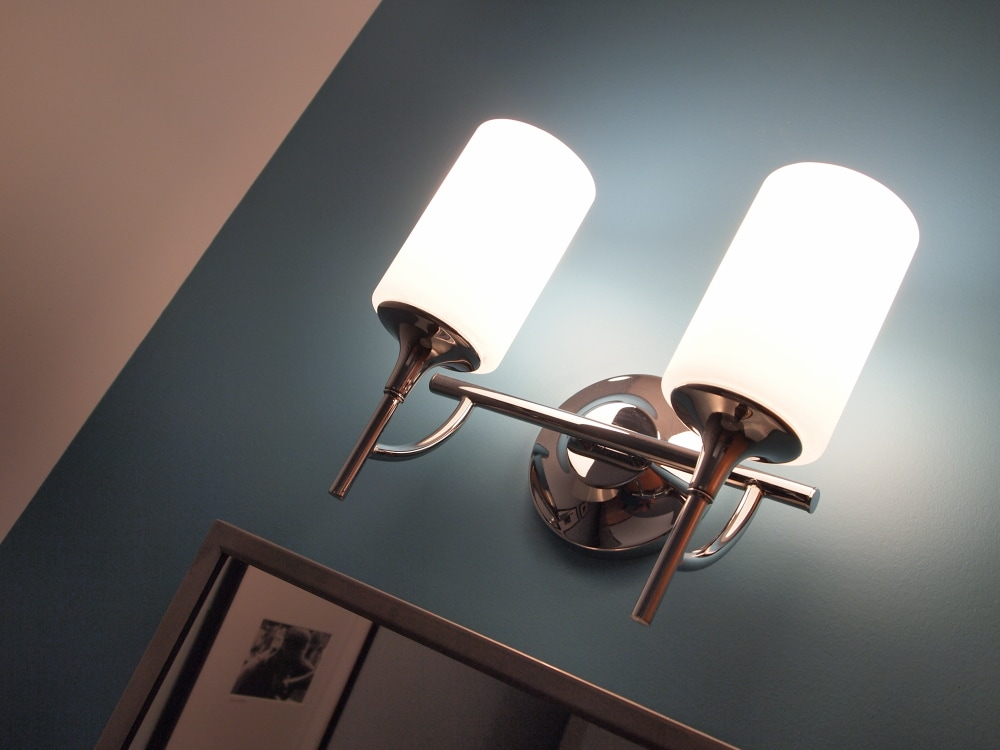 Wall Sconce Over Vanity