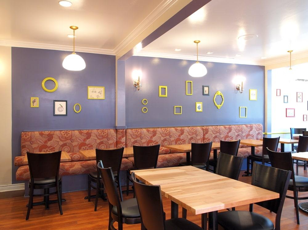 Bistro Interior and Lighting Design