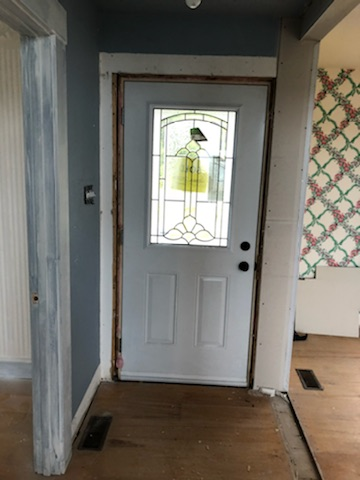 inviting entry door